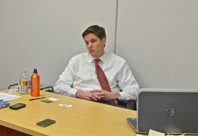Marshall Tuck, a former president of Green Dot charter schools (Photo by Mark Lawson Shepard)