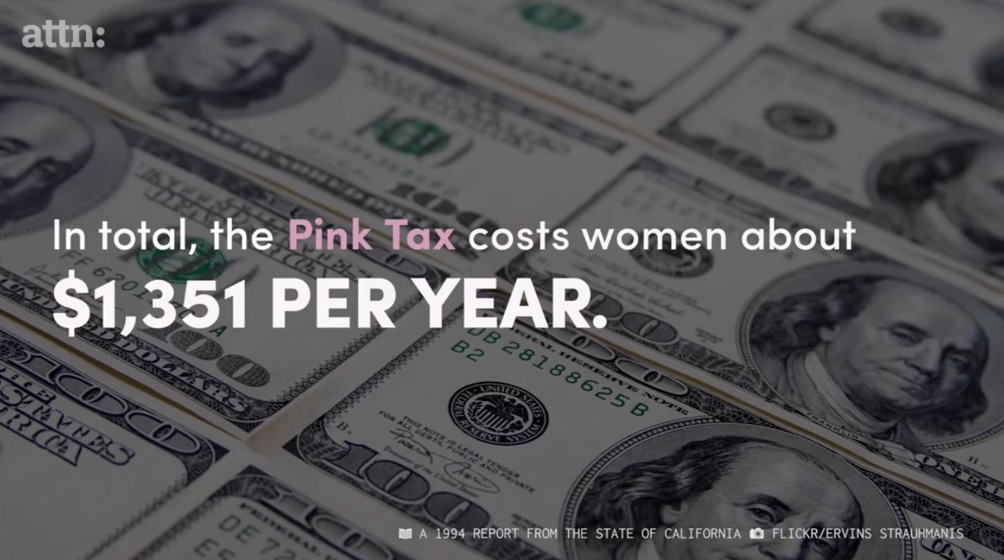 The Problem With the 'Pink Tax'