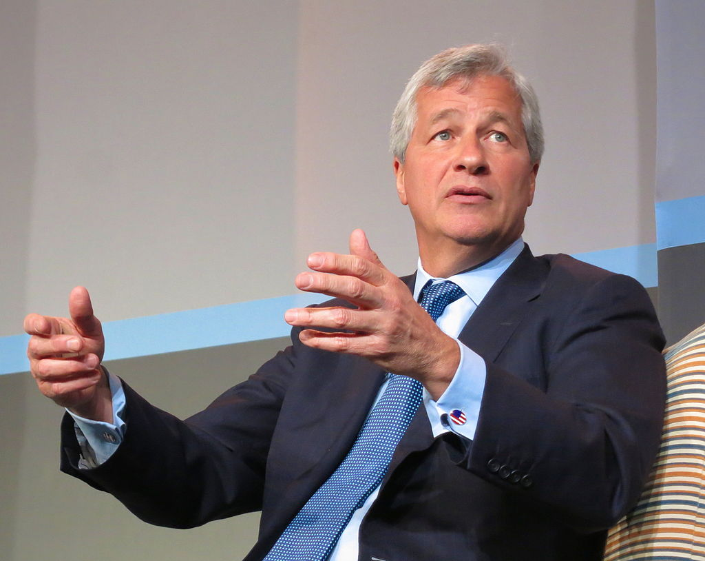 JPMorgan Chase CEO Jamie Dimon Opens His Wallet. Sort of.