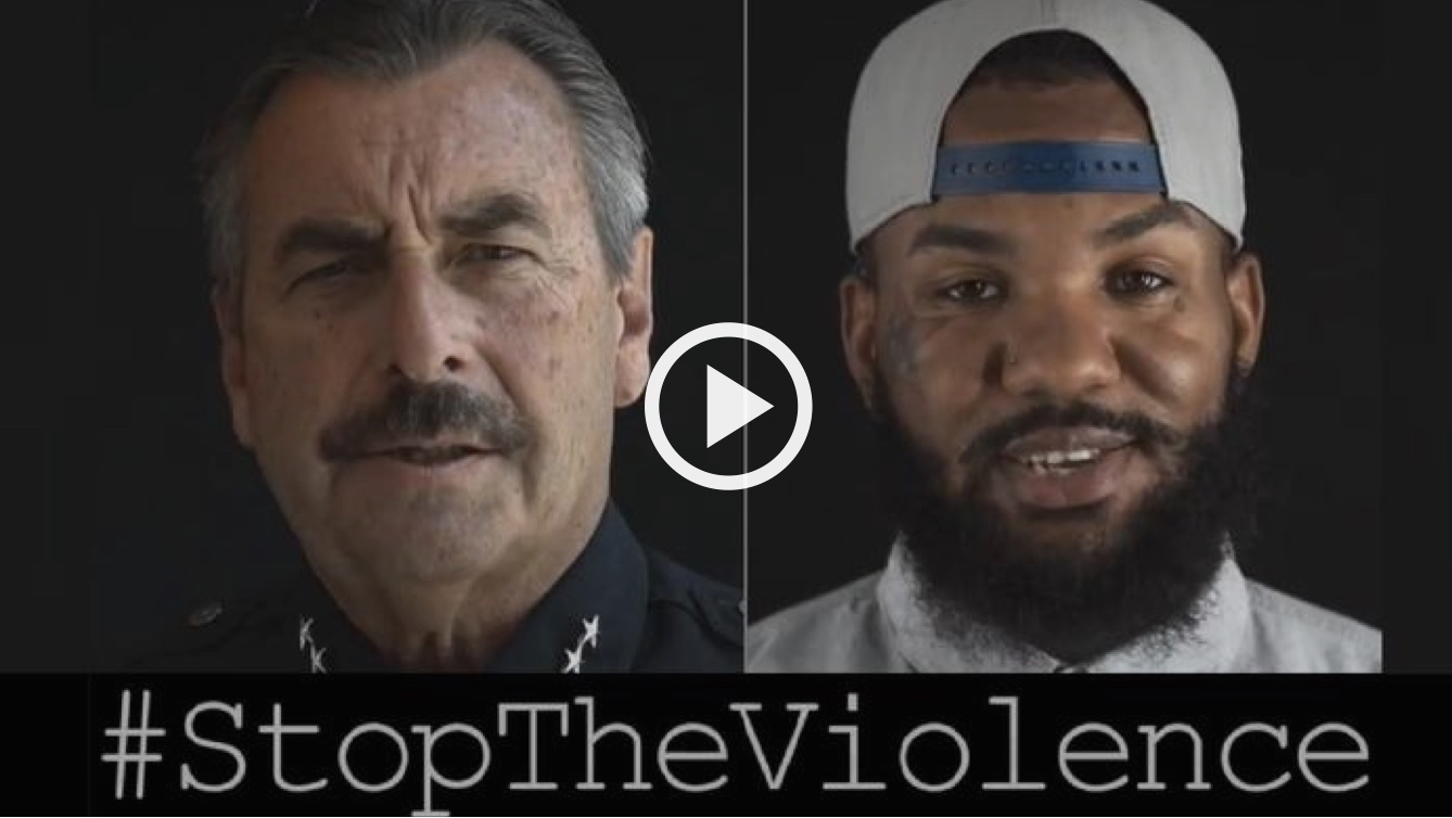LAPD & The Game Launch PSA