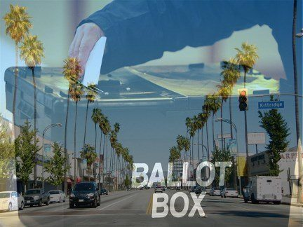L.A. Votes Today! (And That Means You)