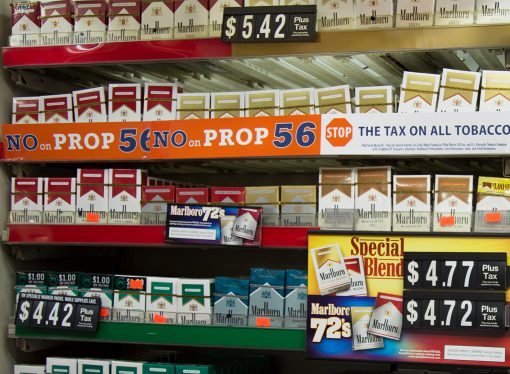 Ballot Bullies: Big Tobacco Goes All Out to Kill Proposition 56