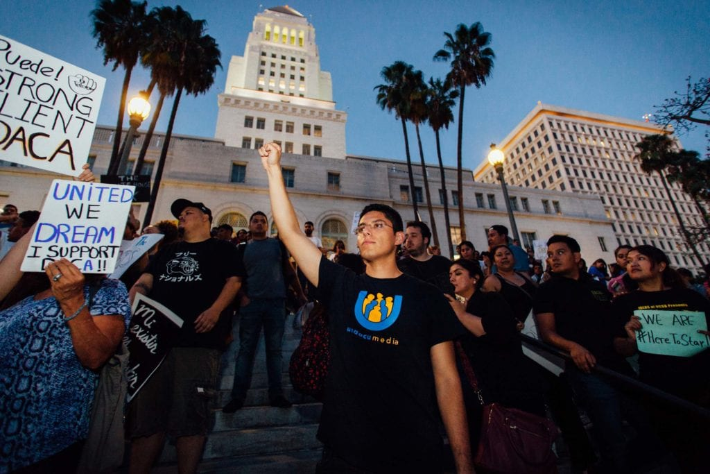 """Justino Mora, co-founder of Undocumedia. """"We are going to have to take this everyday to the White House in order to get comprehensive immigration reform passed."""""""