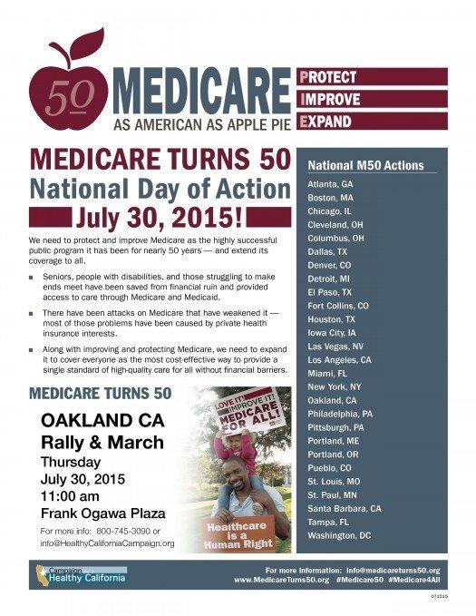 Medicare Event Flyer - Oakland