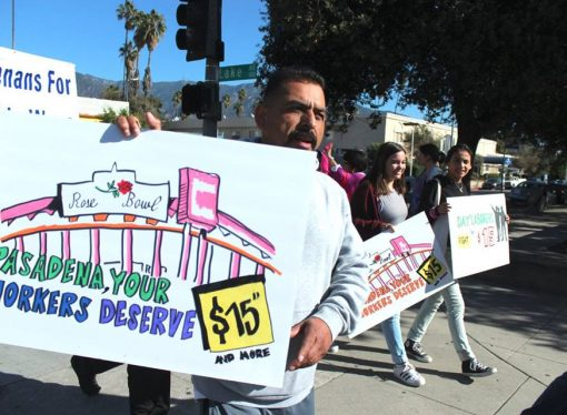 Pasadena Wage Raise Gathers Steam
