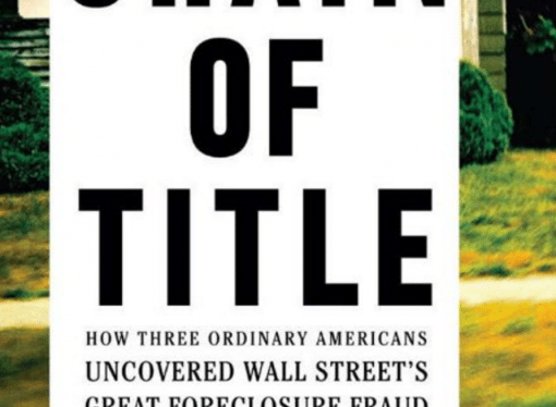 David Dayen Discusses 'Chain of Title'