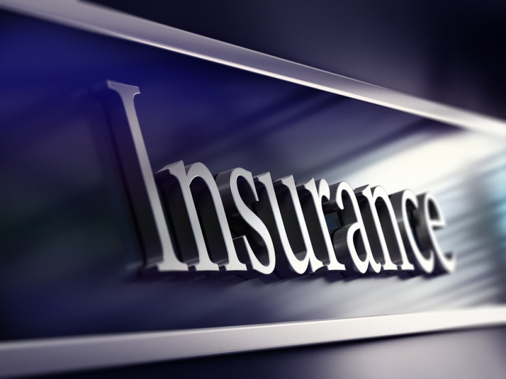 insurance company plaque, 3d rendering