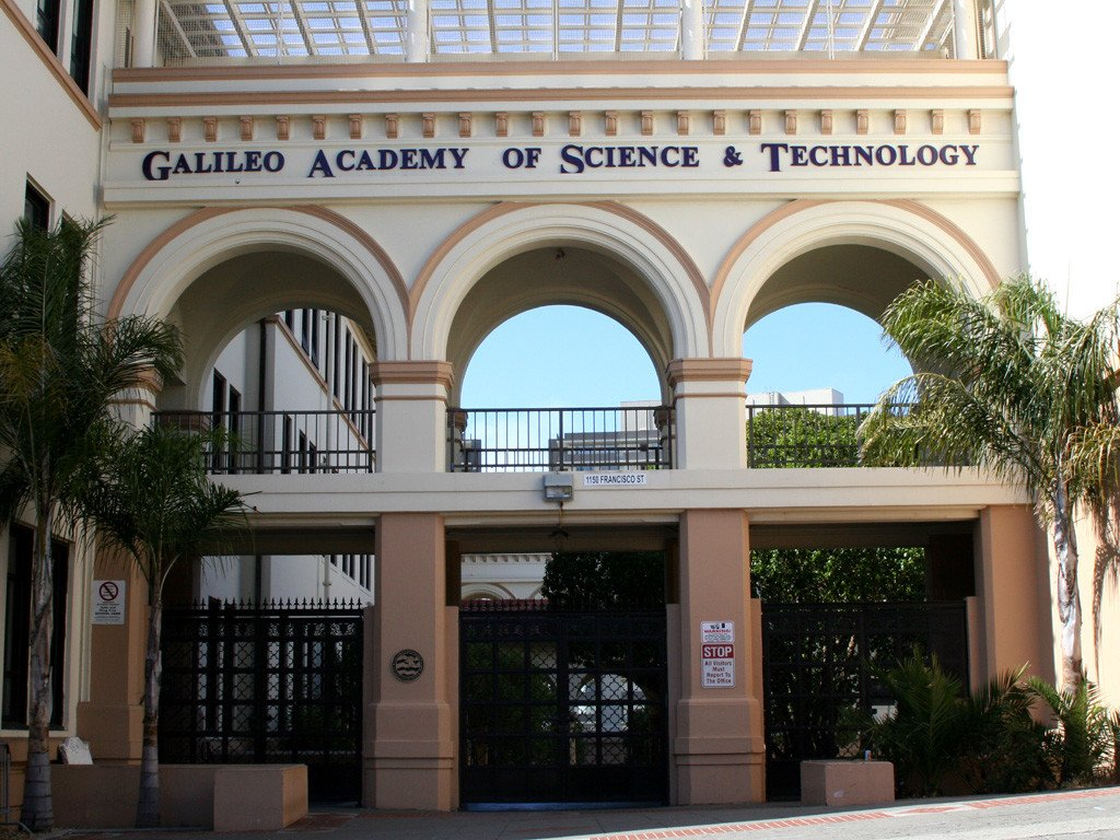 San Francisco's Galileo public high school. (Photo: Bahn Mi)