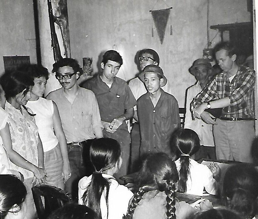 Hanoi, 1967: Hayden, center, the author second from left.
