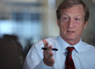 Tom Steyer Takes the Gloves Off in Fight Against Trump