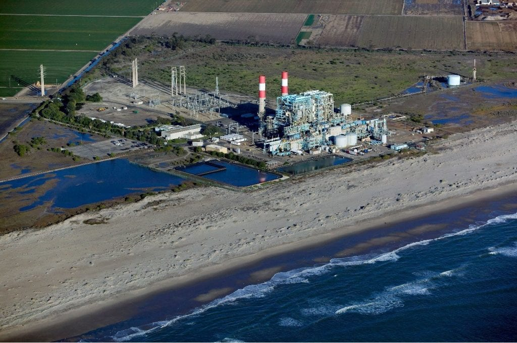 Oxnard power plant.