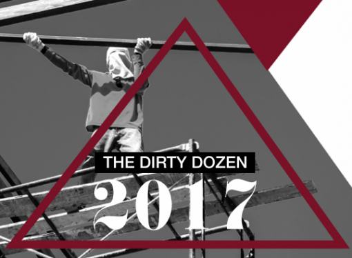 "Jobs to Die For: Report Cites ""Dirty Dozen"" Companies"