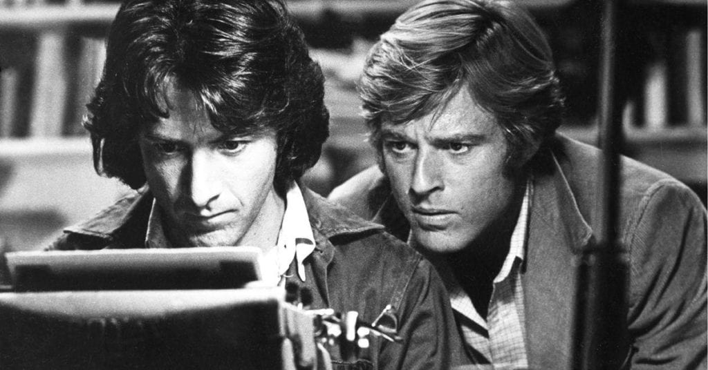 Looking for a 21st-century All the President's Men.