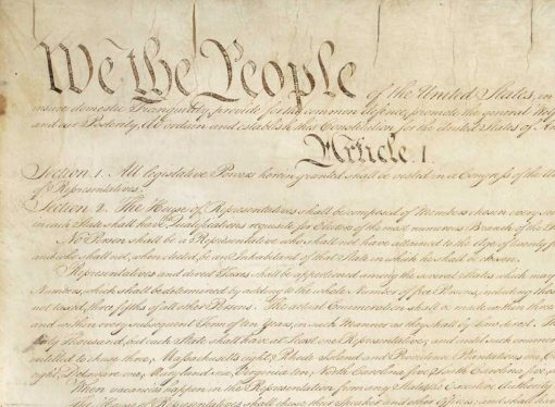 Now More Than Ever: 'We the People'