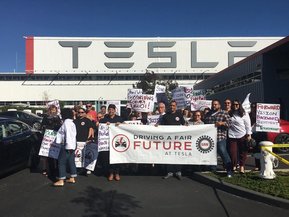 Auto Union Files Complaint Against Tesla
