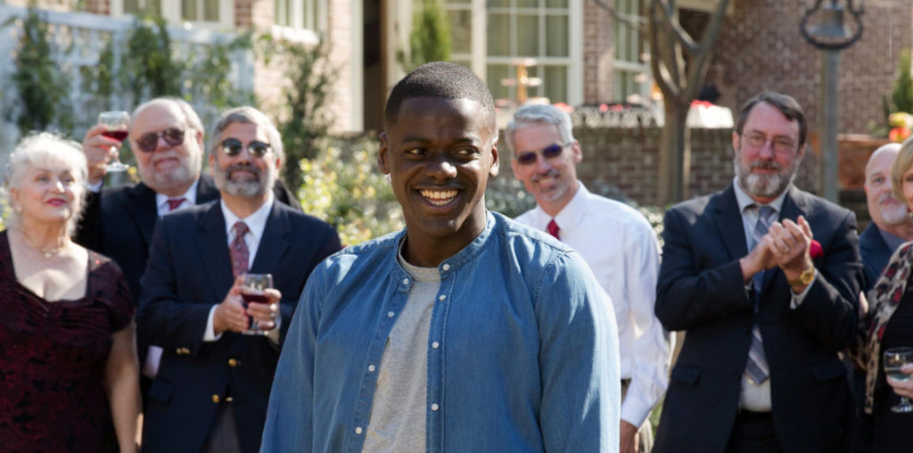 Get Out is a 2017 American comedy horror film written, produced and directed by Jordan Peele, in his directorial debut. The film stars Daniel Kaluuya, Allison Williams, Bradley Whitford, Caleb Landry Jones, Stephen Root and Catherine Keener.This photogr