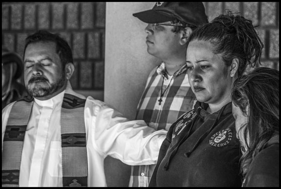Father Pedro Morataya Bear Witness at the Richmond Immigrant Detention Center