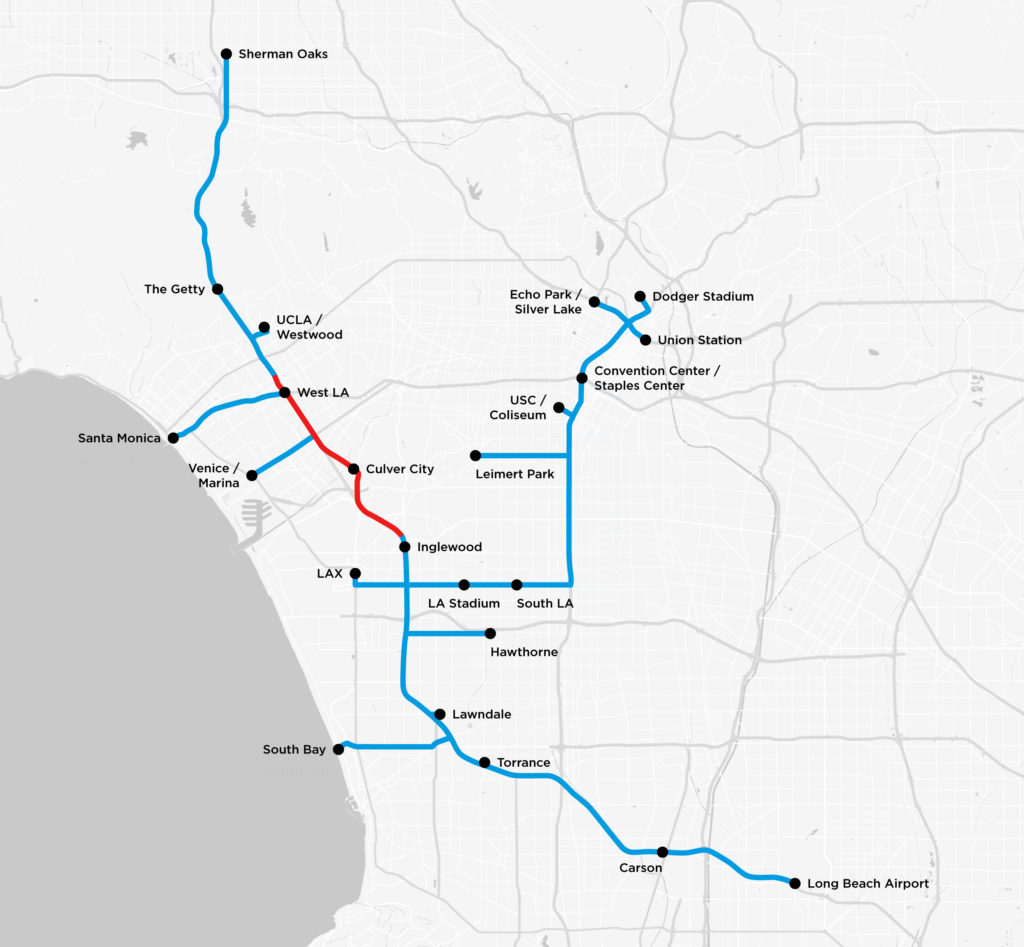 Sepulveda Pass Fire Map.How Elon Musk S Traffic Tunnel Could Harm Los Angeles Capital Main