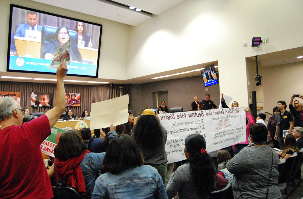 Los Angeles And Oakland Teachers Rally Amid Deadlocked Contract