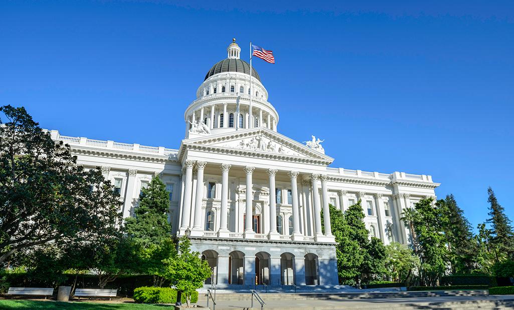California State Capitol Building in Sacramento, CA