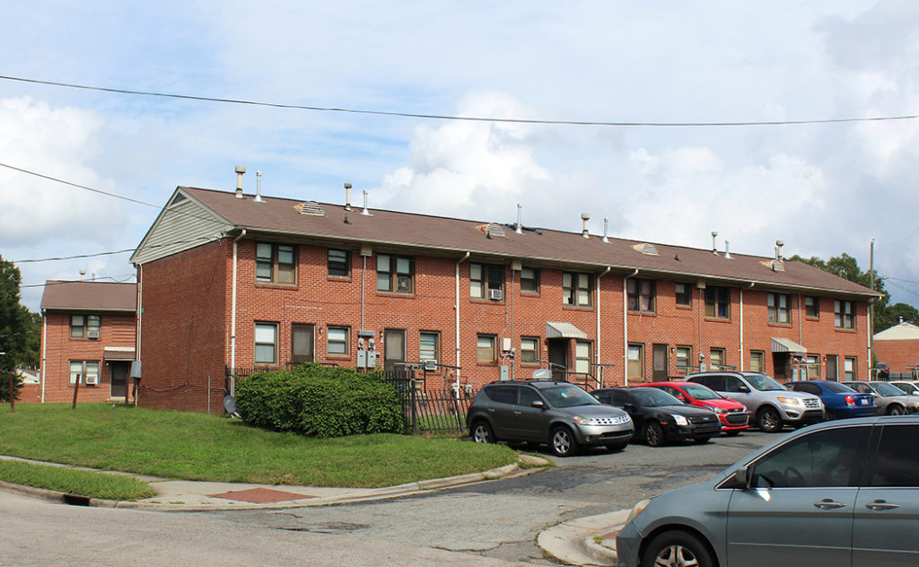 Built in 1954, McDougald Terrace is Durham County's oldest and largest public housing complex.