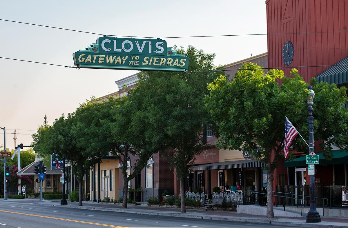CLOVIS, CA - JULY 17: Old Town Clovis is seen on July 17, 2018 in Clovis, California. (Photo by Alex Edelman/Getty Images)